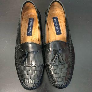 Giorgio Brutini Le Glove Mens Black Leather Loafer